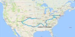 Harriet's good deed trail